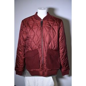 Wesc Maroon varsity mid weight Jacket